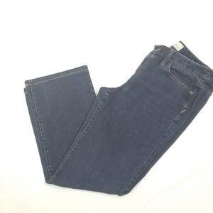 LOFT Original Boot cut Jeans Size 10 Dark Rinse